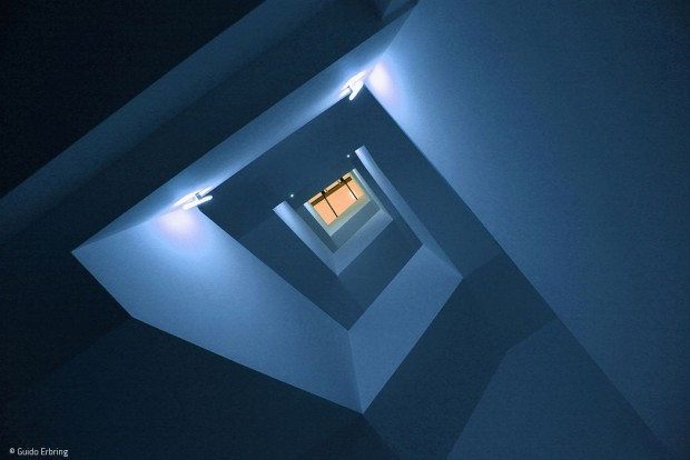 Einfamilien Haus, Treppenhaus