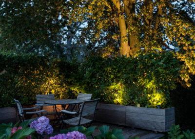 Gartenbeleuchtung Beete