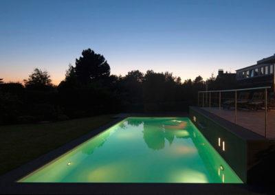 Gartenbeleuchtung Pool