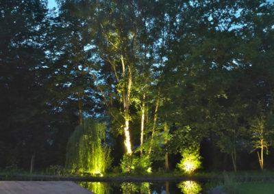 Gartenbeleuchtung Wasser