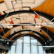 Imposante Beleuchtung Showroom Buchhandlung
